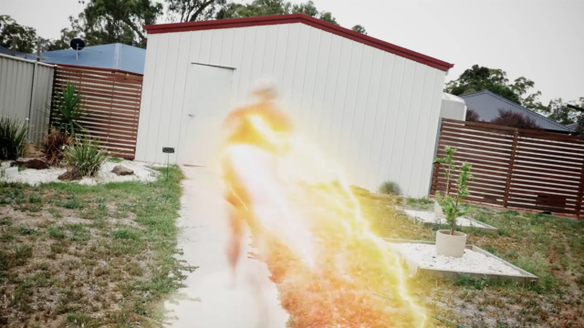 How To Create The Flash Running Effect