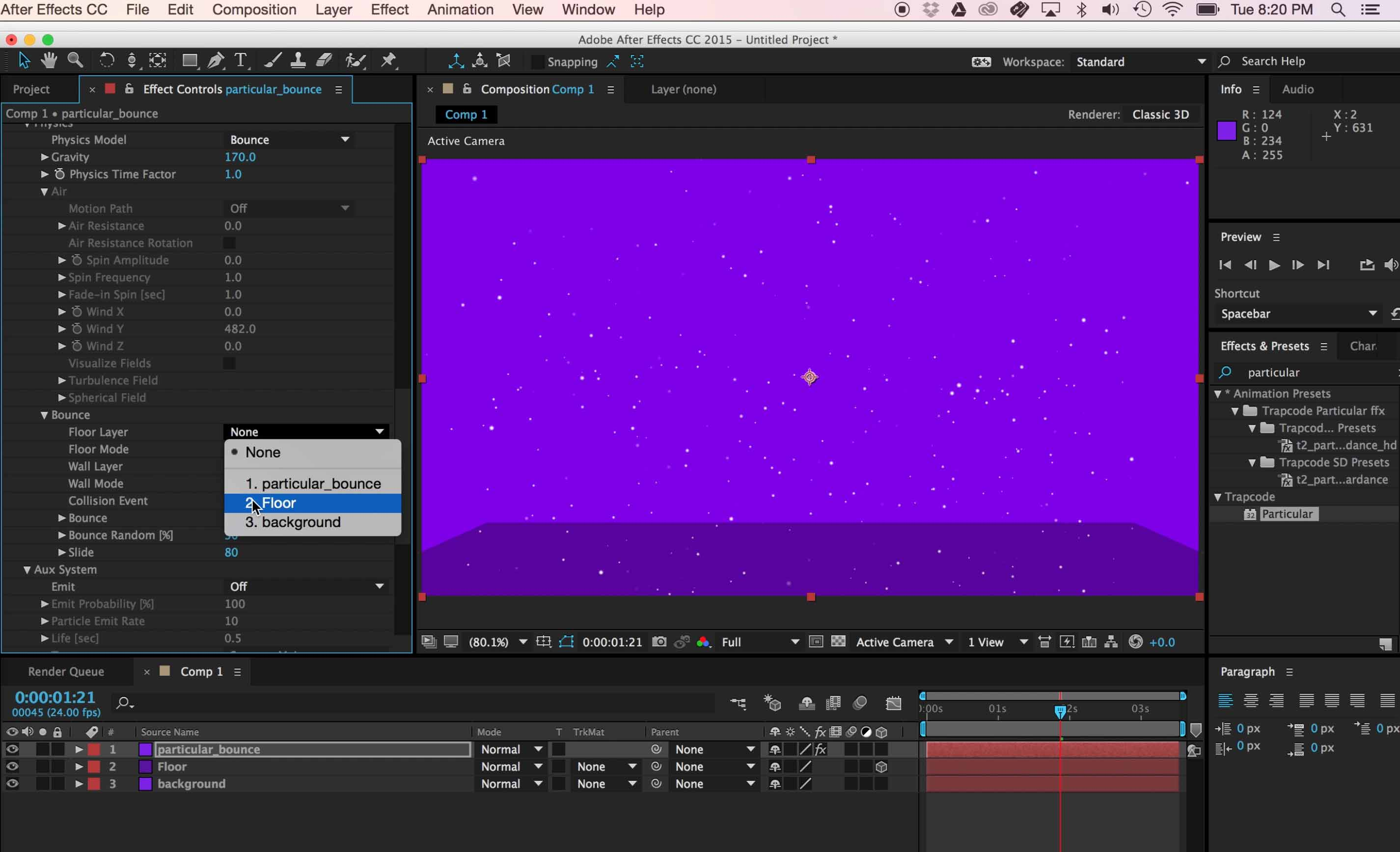 3 Basic Trapcode Particular Settings Every Motion Designer Should Know