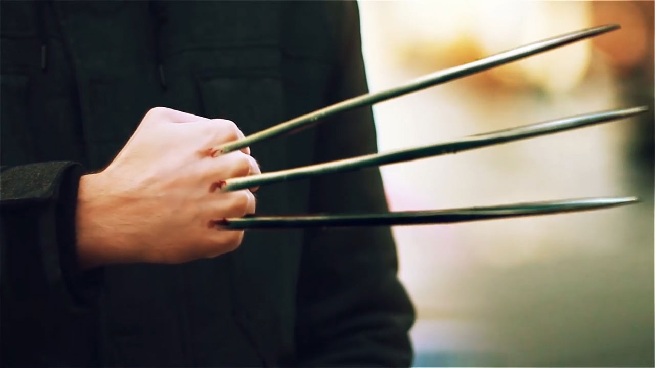Learn how to create wolverine claws from the movie logan baditri Images