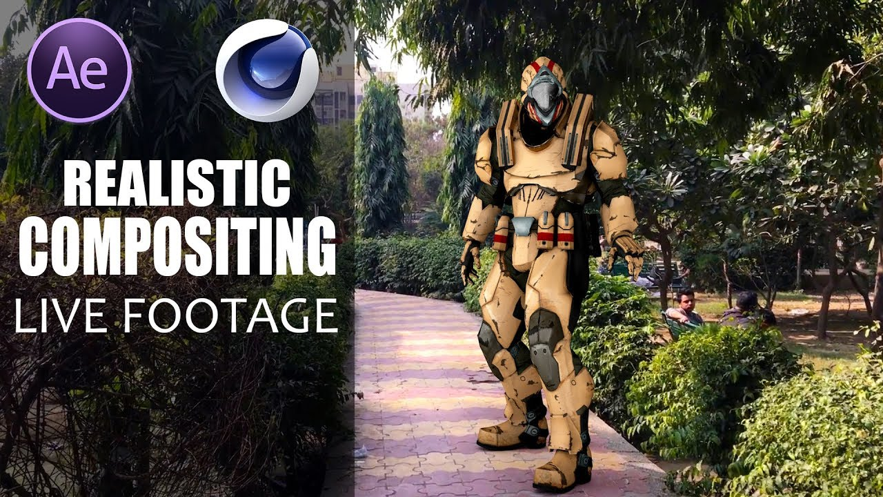 Create A Realistic Composite Between Cinema 4D and After Effects
