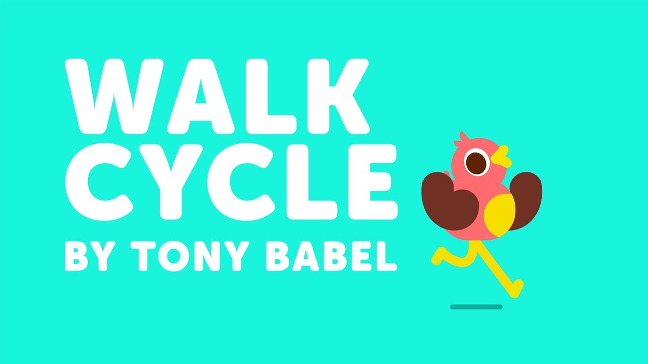 Create These Fun Character Walk Cycle Animations