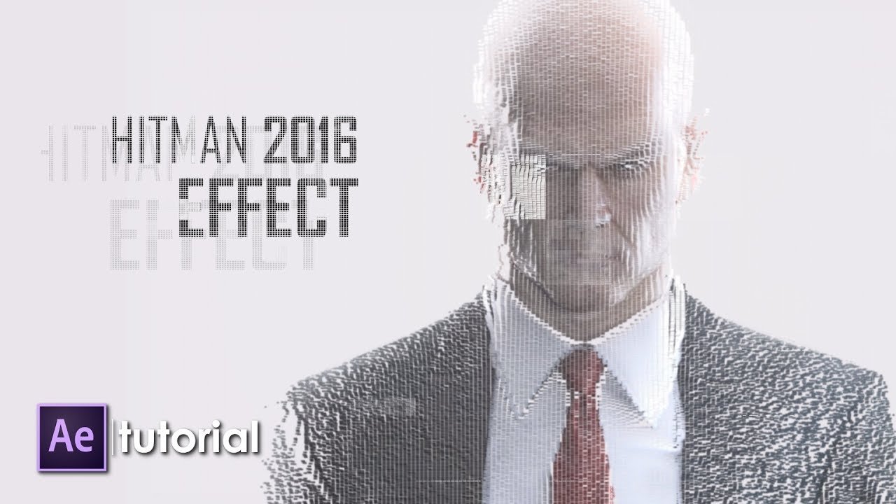 Create This Glitch Transition From Hitman