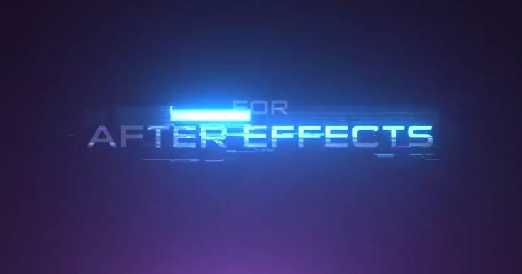 Create This Colorful Futuristic Glitch Effect