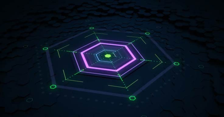 Create This 3D Hexagon Animation Using Cinema 4D And After Effects