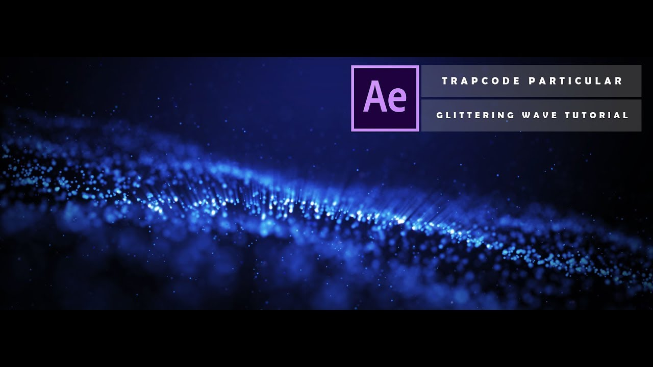 Create This Beautiful Particle Wave Using Trapcode Particular
