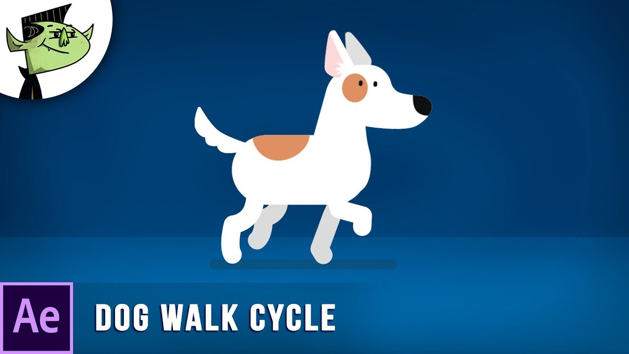 Learn How To Animate A Dog Walk Cycle