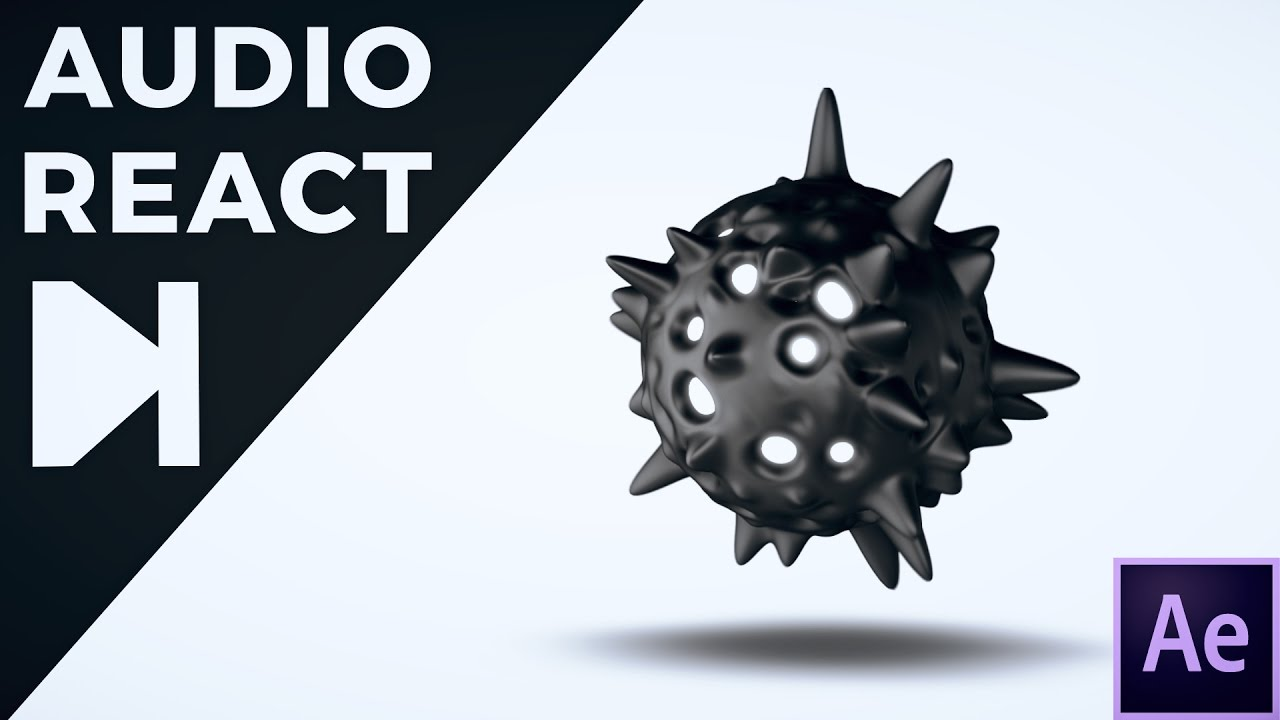 Create These Abstract Audio Reacting Sphere Animations Using Element 3D