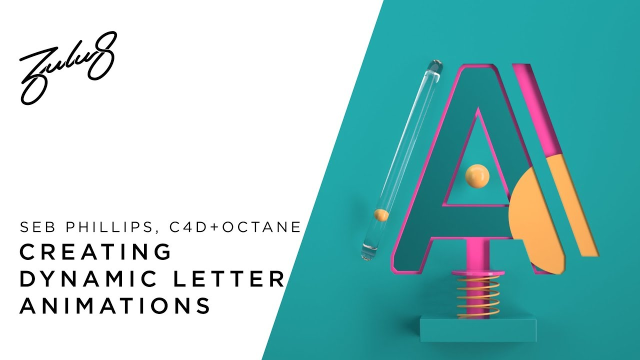 Create These Dynamic Letter Animations In Cinema 4D