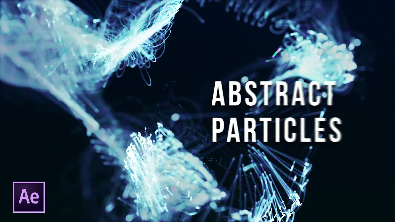 Learn How To Create This Beautiful Particle Title Animation
