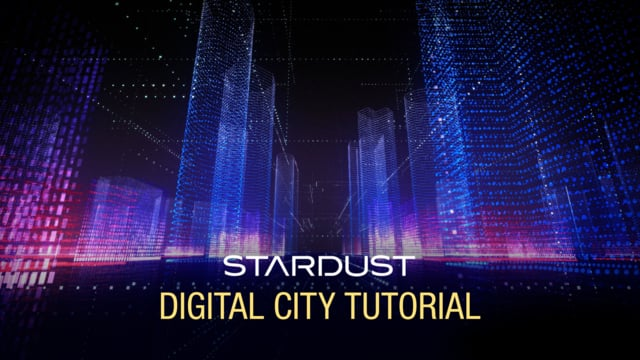 Learn How To Create This Futuristic Digital Cityscape Using Stardust