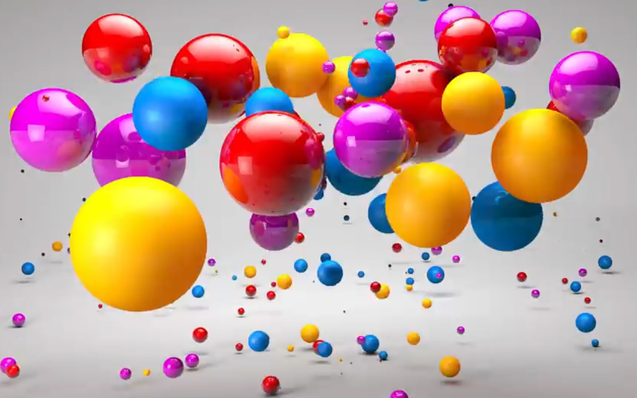 Create Glossy Audio Reacting Spheres In Cinema 4D