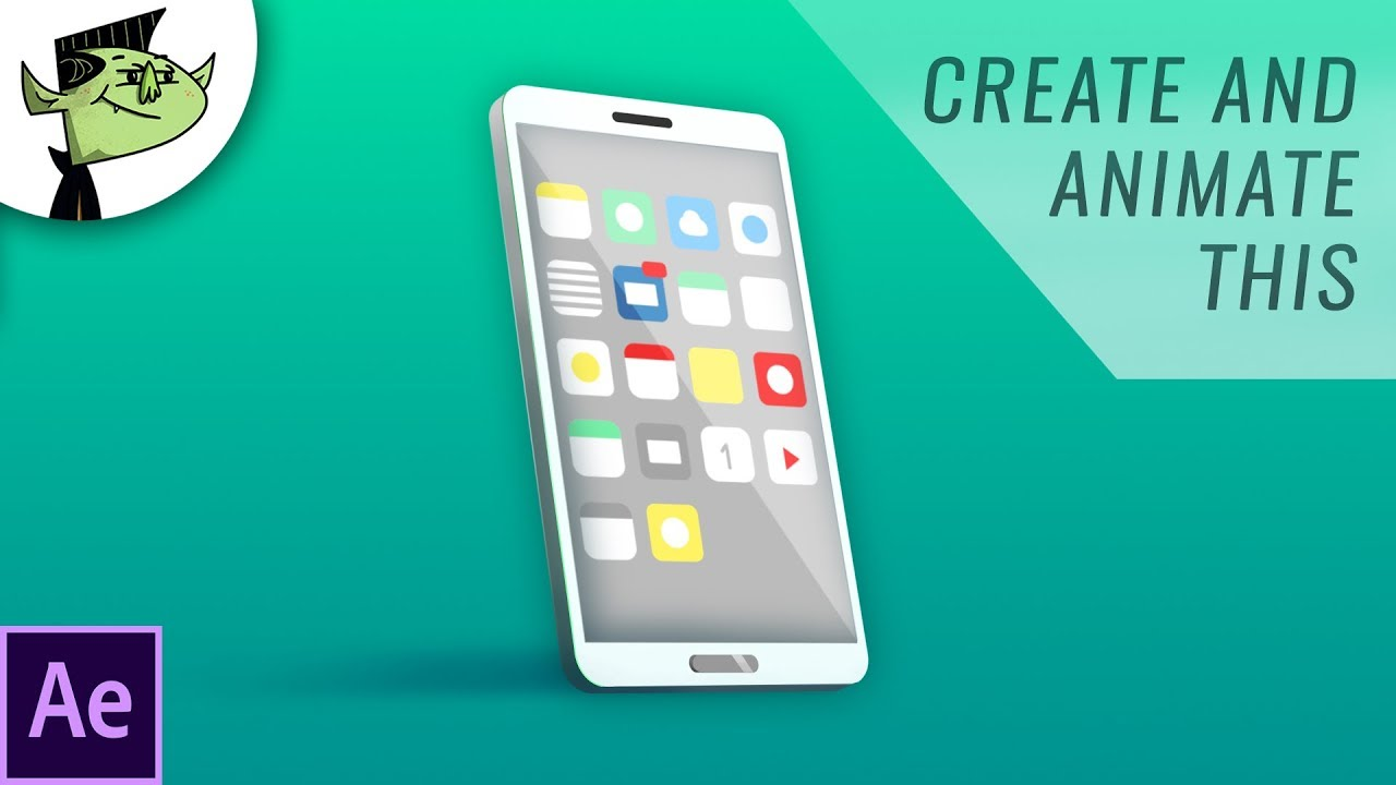 Create This Simple 3D Cell Phone Animation Using Just After Effects