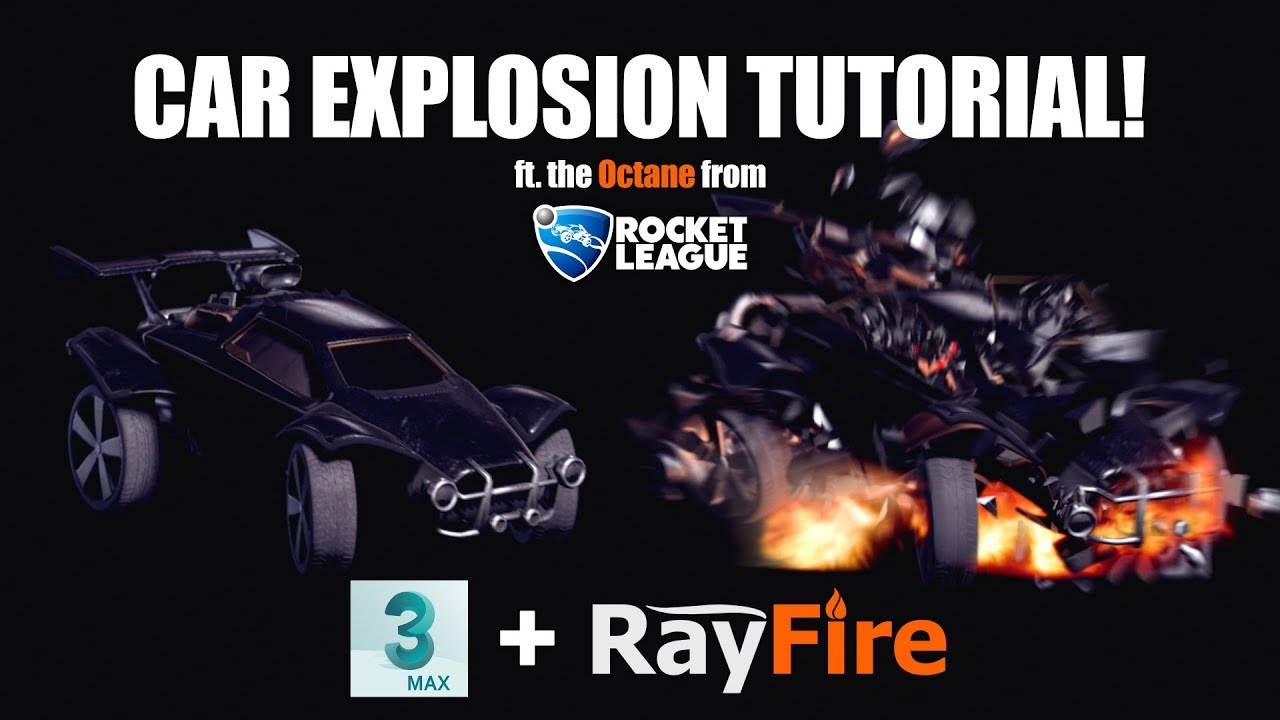 How To Create This Advanced 3D Car Explosion