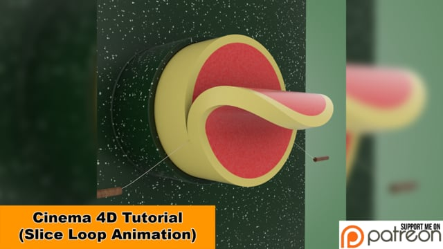 Learn How To Create This Slice Looping Animation In Cinema 4D