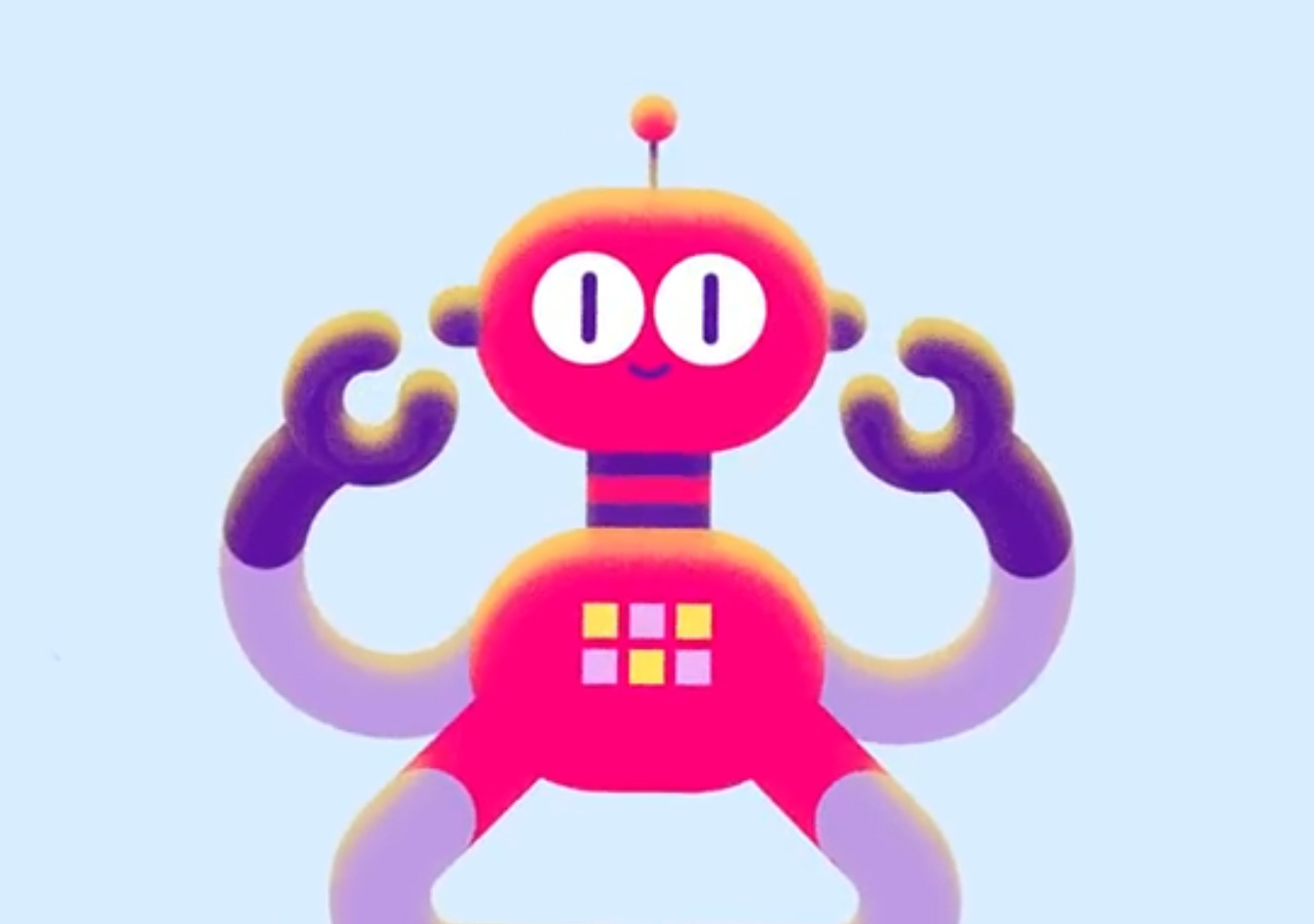 Create This Fun 3D Robot Using Only Shape Layers