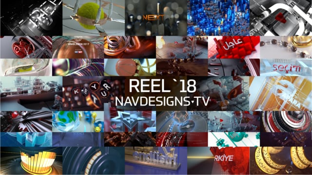 Navdesigns.tv Showreel 2018