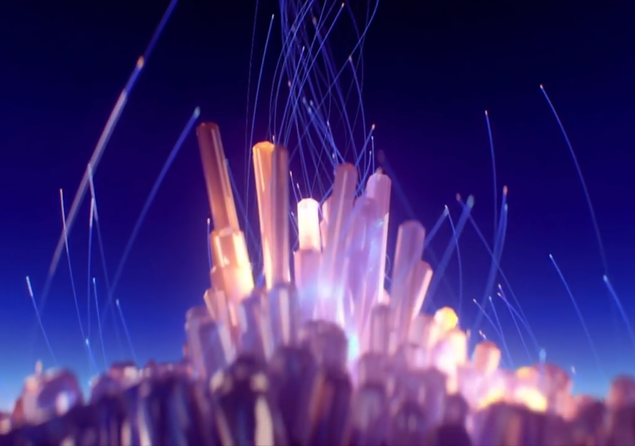Create This Crystal City In Cinema 4D And After Effects - 5 Part Tutorial
