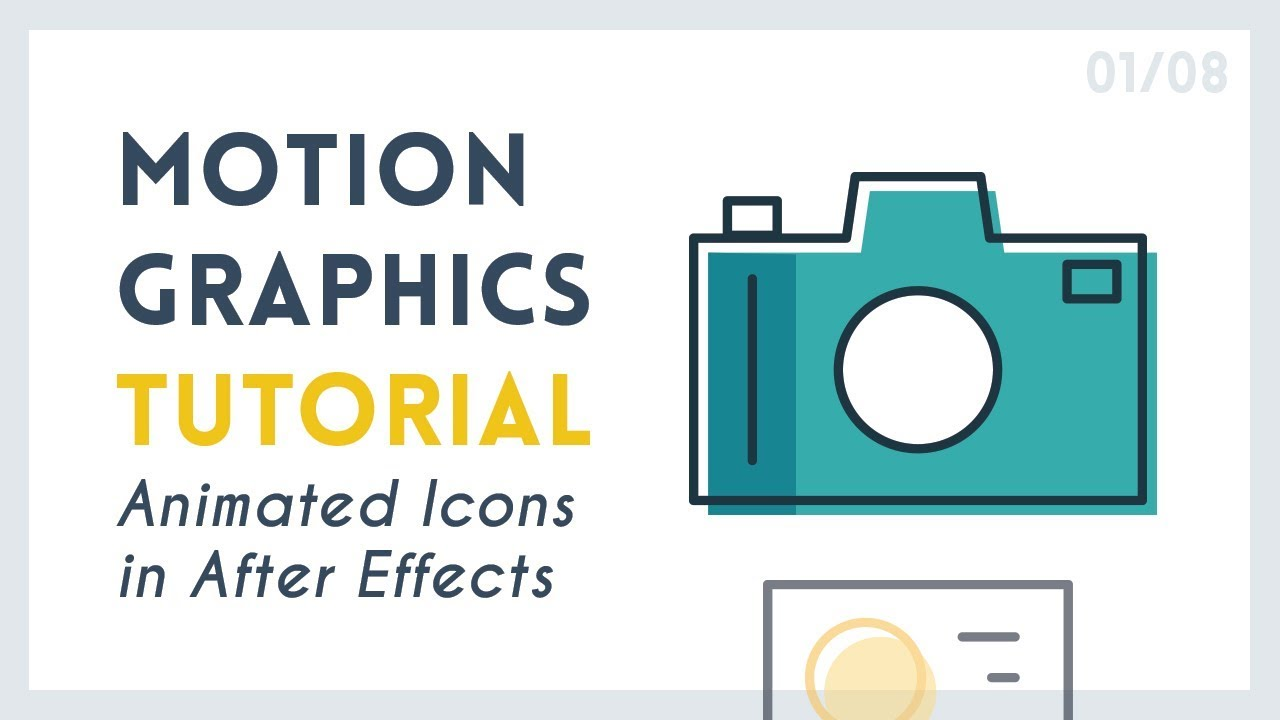 Learn How To Animate These Simple Motion Graphic Icons
