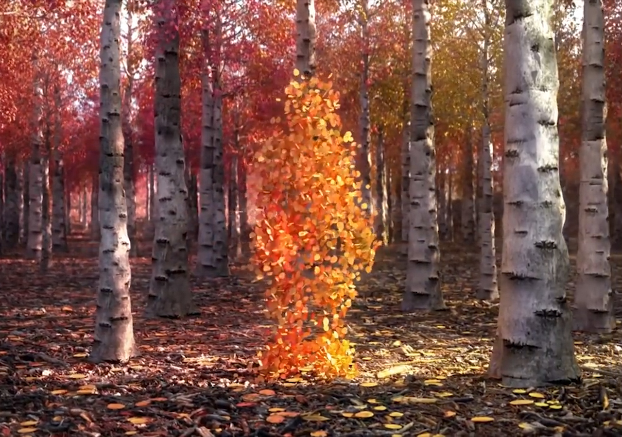 Create This 3D Character Leaf Animation Using C4D And After Effects