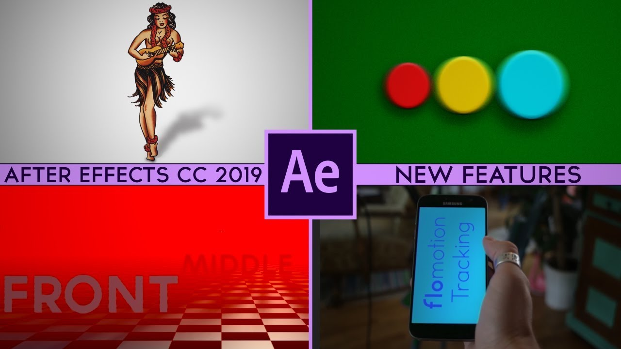 Whats New In After Effects CC 2019