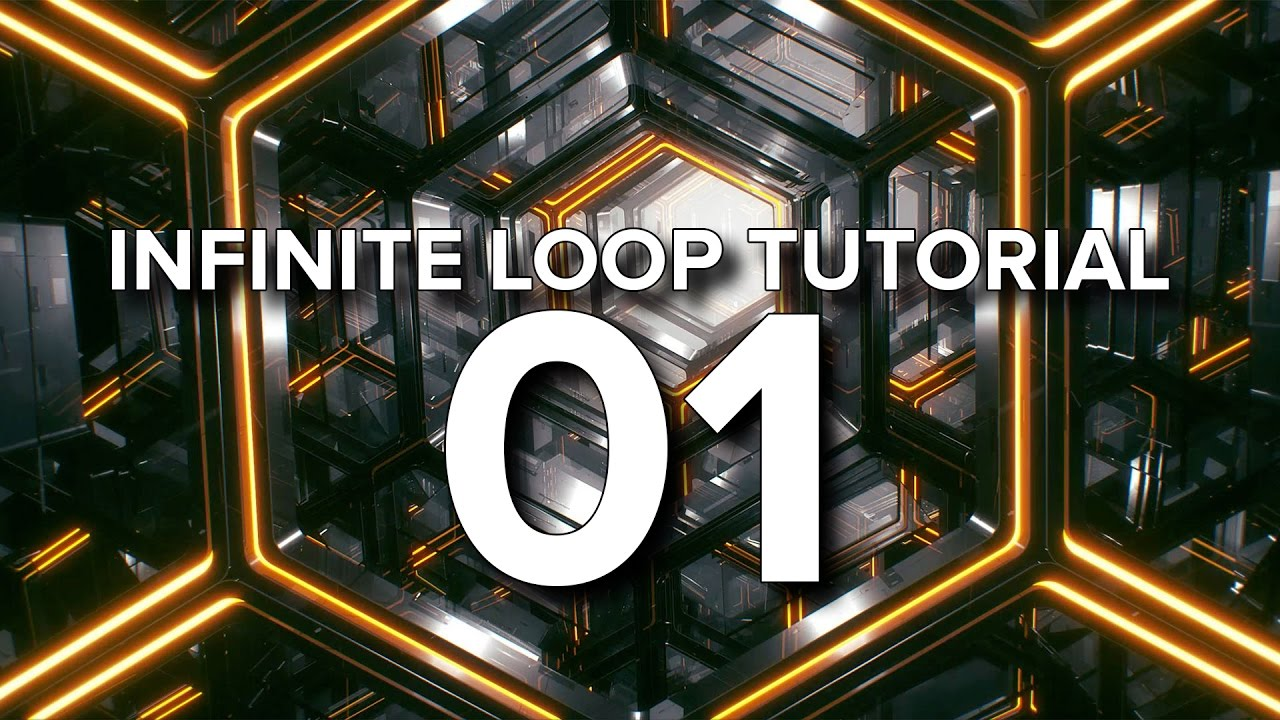 Create This Hypnotic Hexagon Loop In Cinema 4D