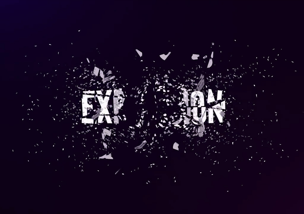 Learn How To Explode Text In After Effects