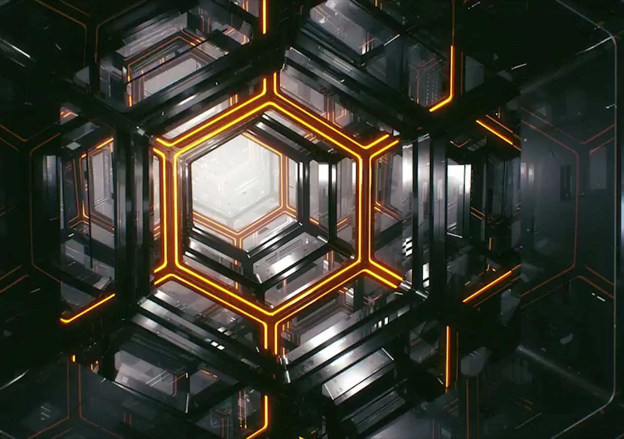 Create This Hypnotic Hexagon Loop In Cinema 4D