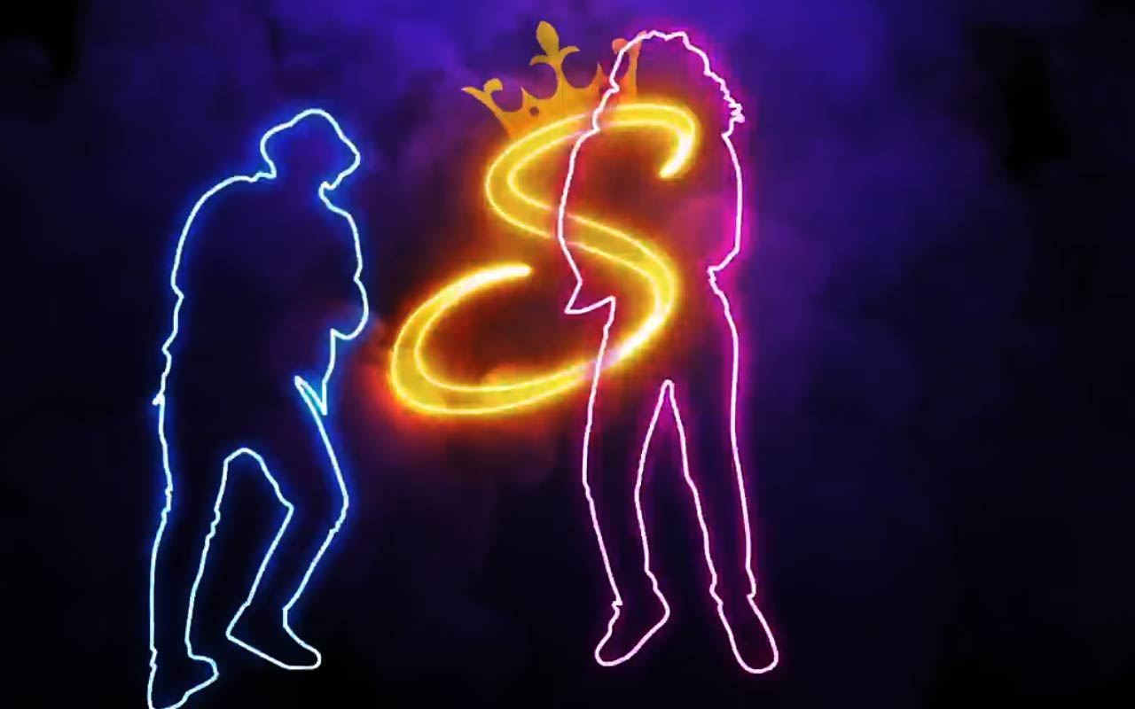 Create This Glowing Write-On Effect With Dancers In After Effects