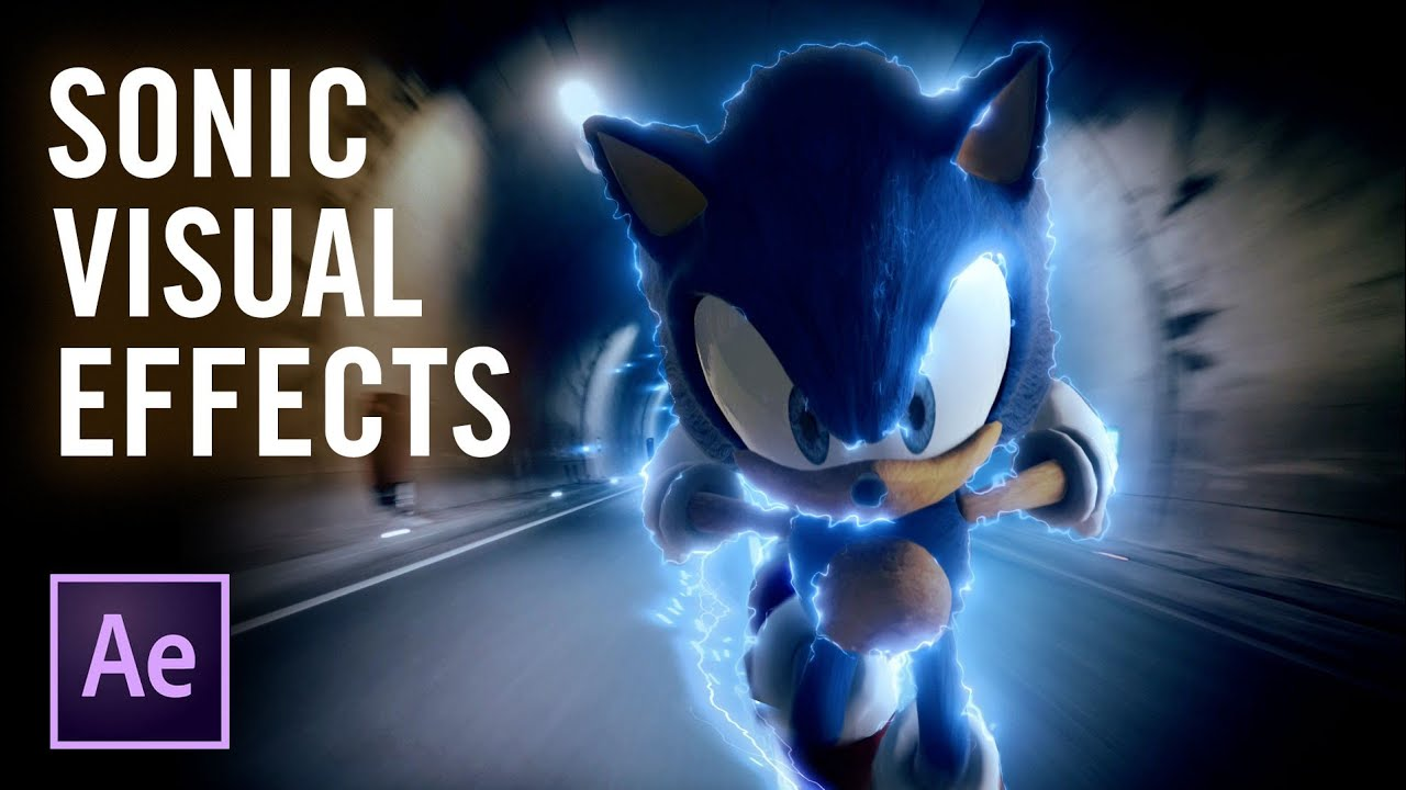 Learn How To Re-Create The Sonic The Hedgehog Speed Effect