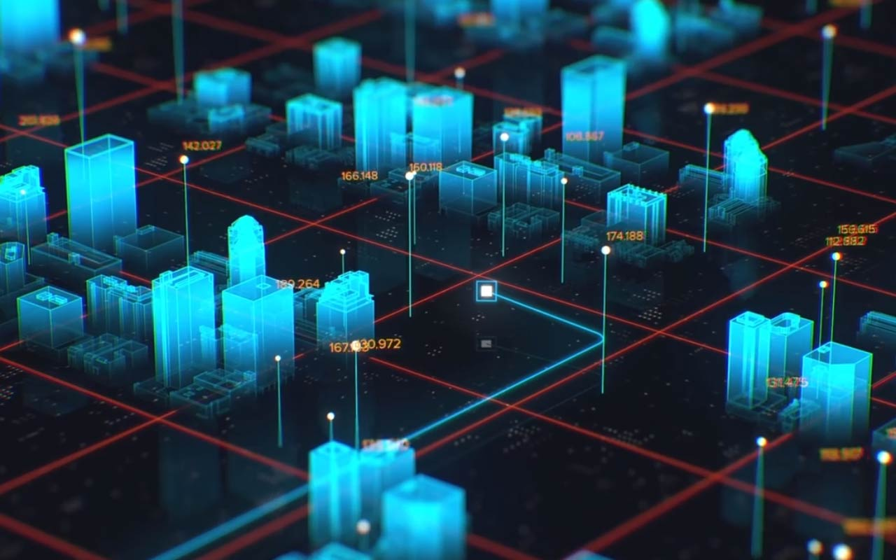 Create This Amazing Holographic City Map Using After Effects And Cinema 4D
