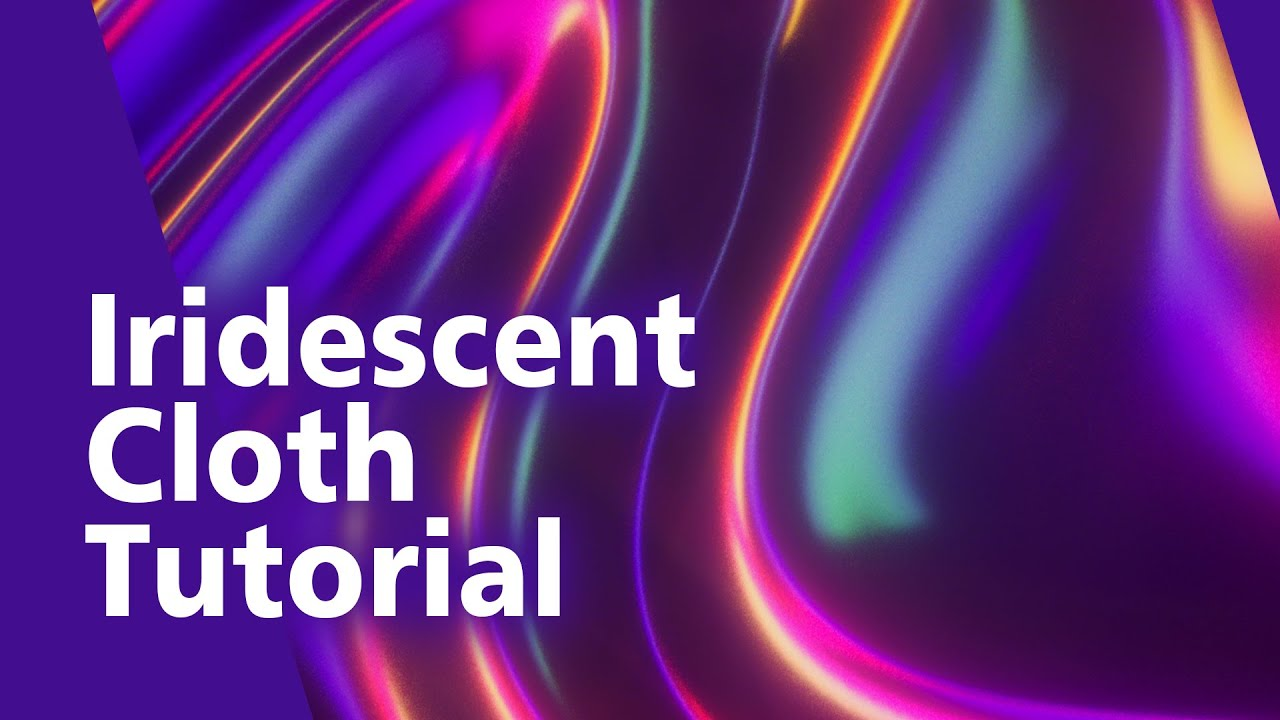 Create This Mesmerizing Iridescent Cloth Animation In Cinema 4D