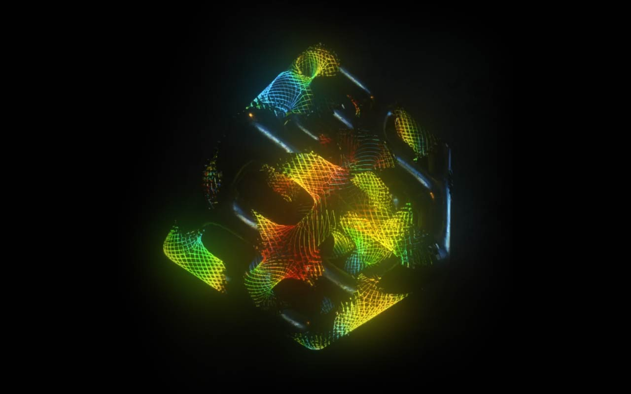 Learn How To Create This Colorful Glowing Mesh Loop In Cinema 4D