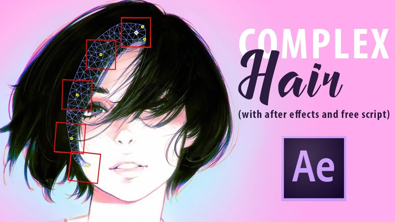 How To Create Complex Hair Movement In After Effects