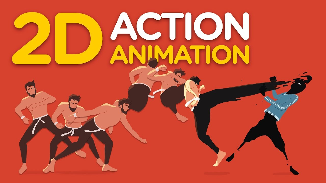 Create This 2D Action Animation In Photoshop And After Effects