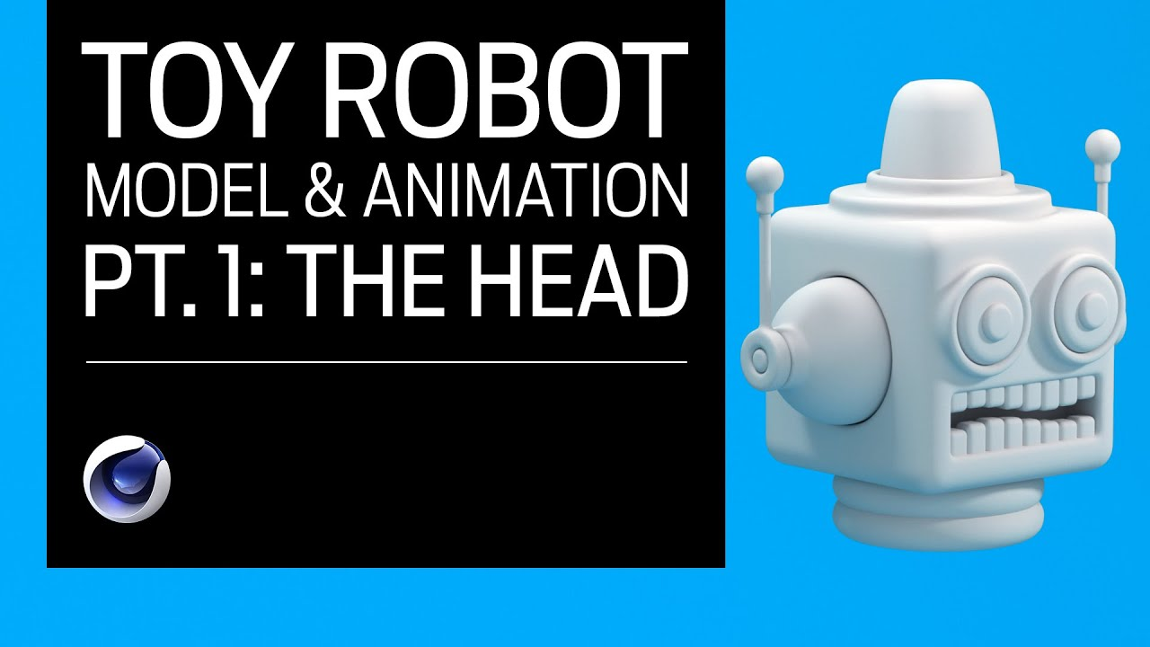 Create This 3D Toy Robot Using Cinema 4D and Redshift