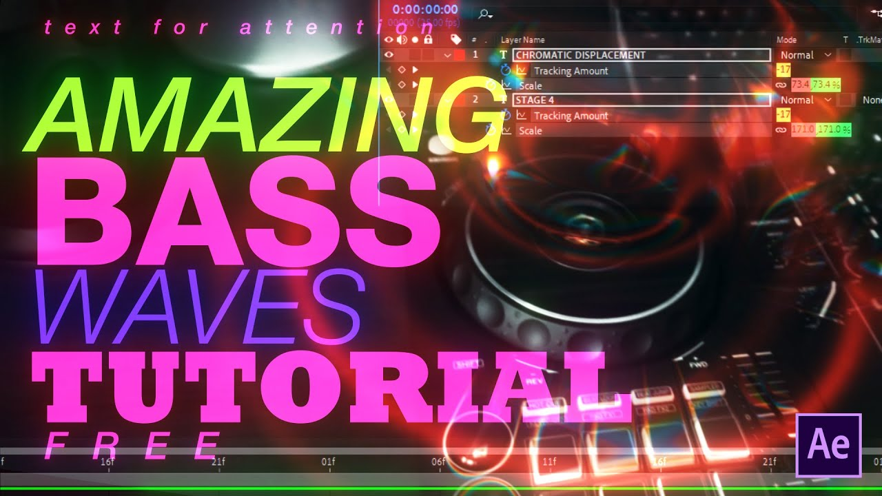 Learn How To Create Amazing Bass Waves In After Effects