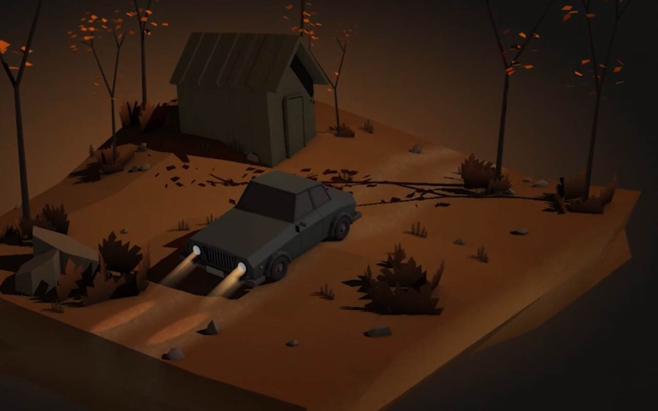 Learn How To Model and Texture This Low Poly Autumn Scene In Cinema 4D