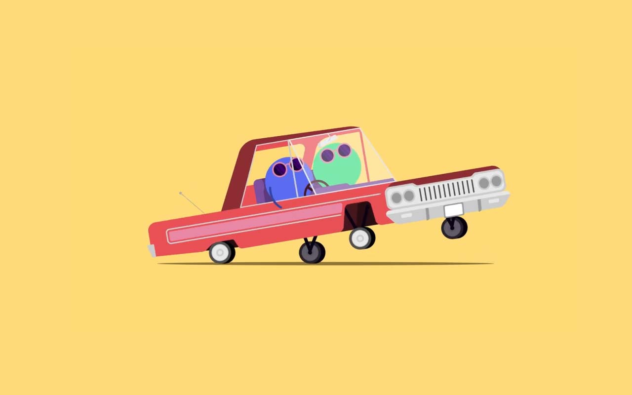 Learn How To Create This 2D Bouncing Car Animation
