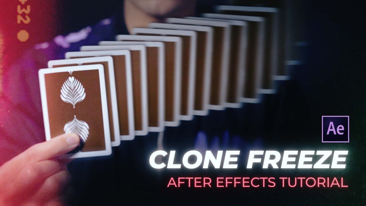 Create This Clone Freeze Effect In After Effects