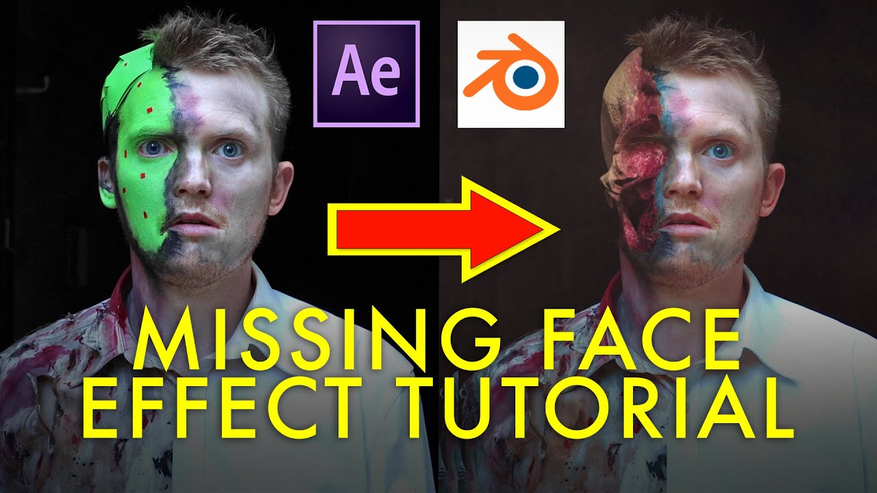 Create This Missing Face Effect In After Effects And Blender