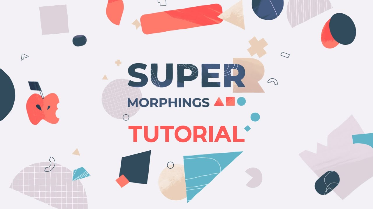 Morph Any Object Quickly Using Super Morphings – After Effects Plugin