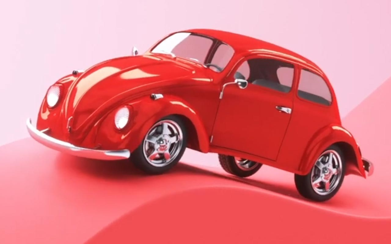 Create This Wavy 3D Car Animation In Cinema 4D
