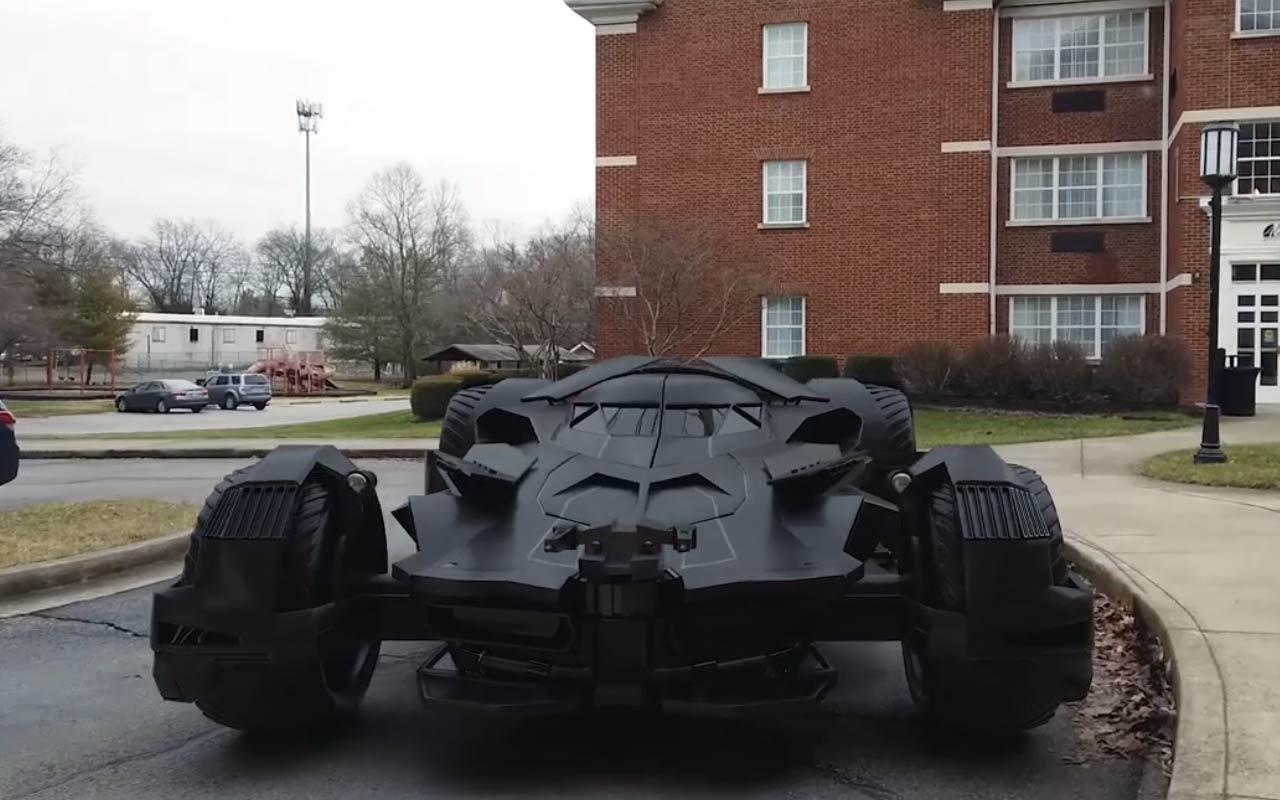 Add The Batmobile To A Scene Using Cinema 4D