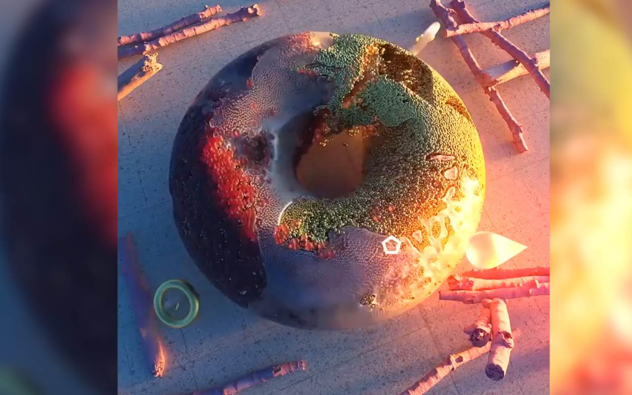 Create A Liquid Donut Using X-Particles In Cinema 4D