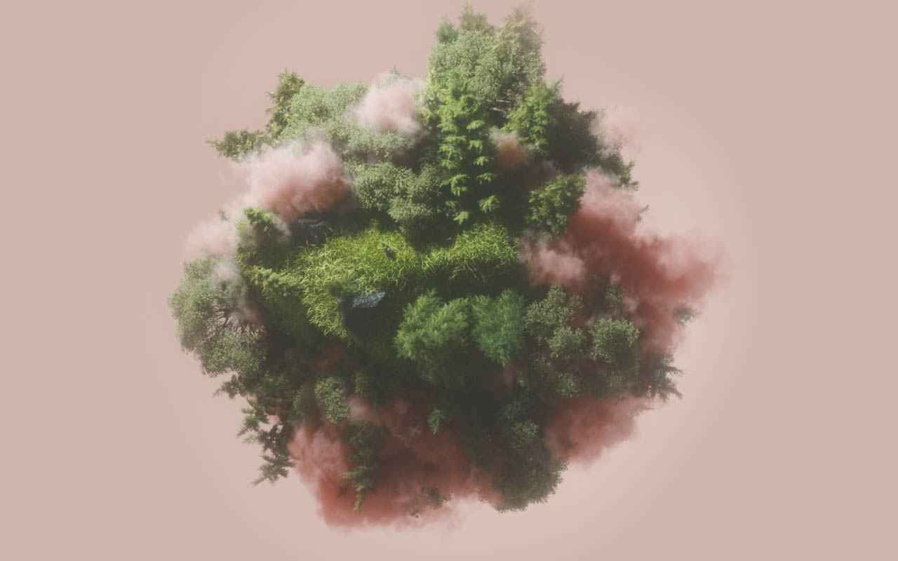 Create This Planet Ecosystem In Cinema 4D And Octane