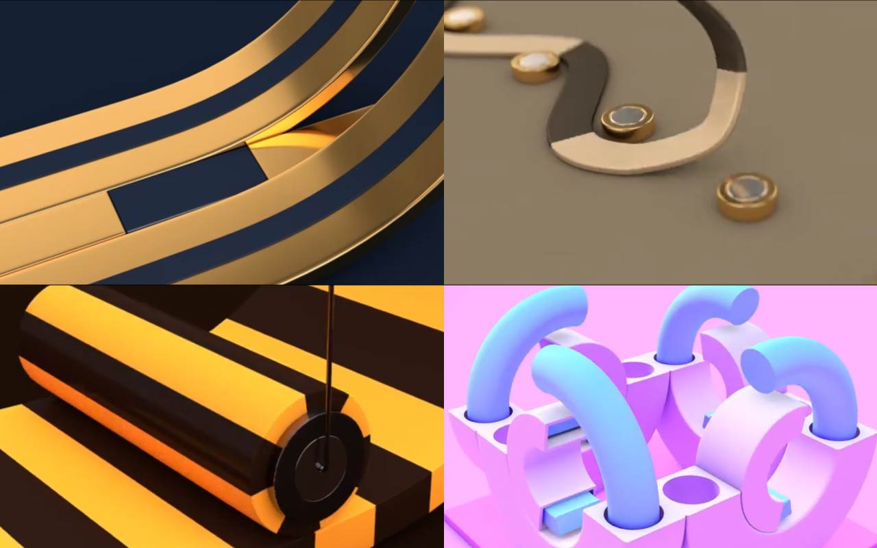 Create 4 Simple Cinema 4D Animated Loops